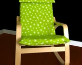 IKEA POÄNG Cushion Slipcover - Dandelion Green White