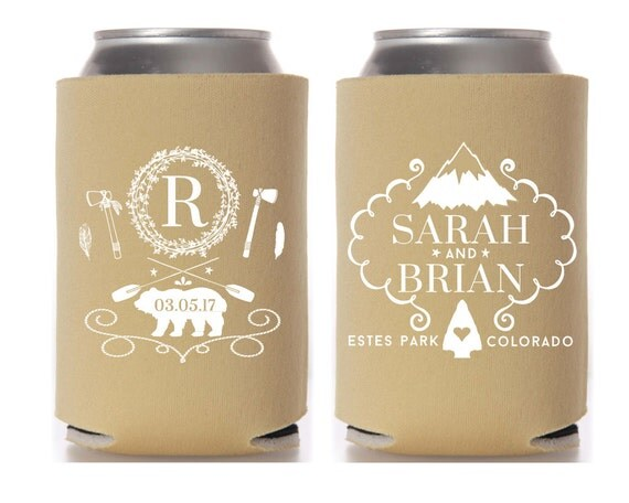 Rustic Mountain Wedding Favors Outdoor Gifts