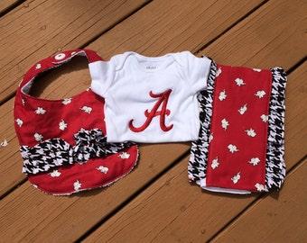 Baby Girl Alabama Gift Set