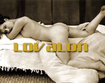 MATURE... Just Beautiful... Instant Digital Download... Vintage Erotic Fetish Photograph... Vintage Nude Photo