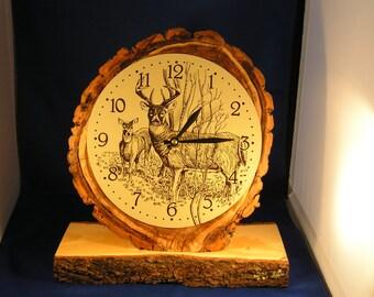 Rustic clock                                                                On Sale