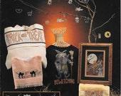 Halloween Cross Stitch Designs, Halloween Treats by Melinda 1992 Cross My Heart, Halloween Ornaments, Spooky Earrings, Trick or Treat, Witch