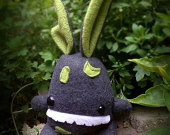 Zombie bunny - hopping dead plush