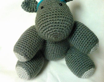 Helga the Amigurumi Hippo