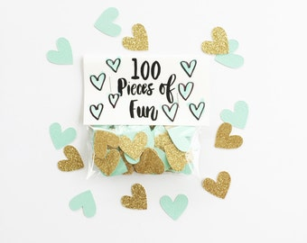 Party Confetti, robin egg blue and gold wedding, robin egg blue gold shower, robin egg blue decor, robin egg blue shower, aqua party, aqua