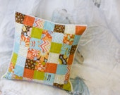 Quilted Pillow - Wrens and Friends