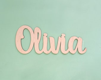 "36"" Wide DIY Custom Cutout Wedding Sign - Custom Word Decorative Wall Hanging - Unfinished Wood Sign - Large Personalized Wedding Gift"