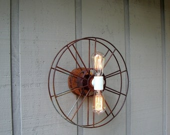 Lighting - Film Reel - Movie - Wall Sconce
