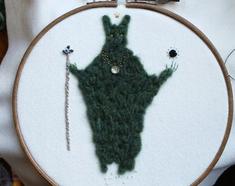 Forest Wizard Embroidery