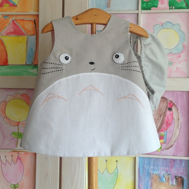 Totoro Baby Dress Clothing Studio Ghibli