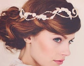 Wedding Bridal Hair adornment, Pearl HairAdornment, Wedding Bridal Headpiece Hairvine, the Eliza Pearl Hair Vine #171
