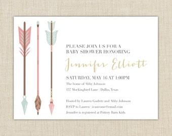Tribal Arrow Invitation