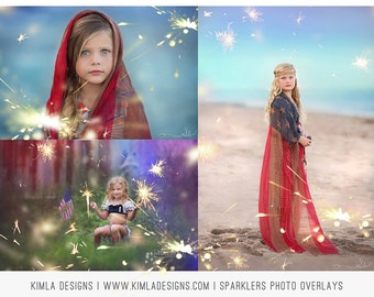On Sale Sparklers Photo Overlays