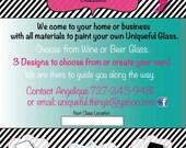"Custom Printable Business Flyer - 8 1/2"" x 11"" - Etsy Shop|Promotional|Marketing|Handout|Event|Art Fair|Art Show|Trade Show|Coupon|Advertise"