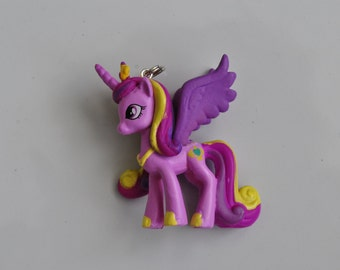 Princess Cadance Cadence My Little Pony Pendant Bubblegum Bead Necklace