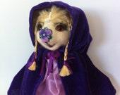 Mohair Teddy Bear. Artist Teddy Bear. Handmade OOAK. Bear Fairy Lila