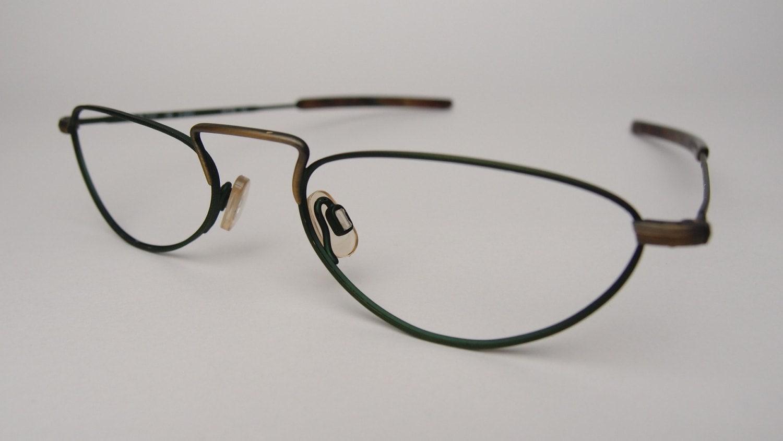 Vintage Silhouette 7237 Reading Glasses Eyeglasses Frames Oval