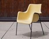 Vintage Fiberglass Arm Chair