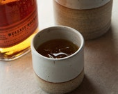 Whiskey Cup: Hand thrown, handmade, and Made in USA by Hanselmann Pottery