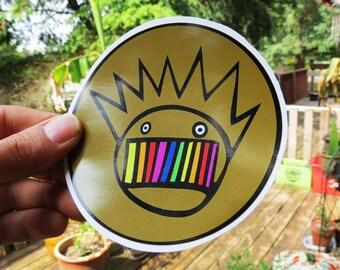 Ween / Rainbow Brown / Boognish / High Quality Vinyl Sticker