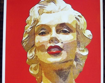 Marilyn Monroe - limited edition screenprint