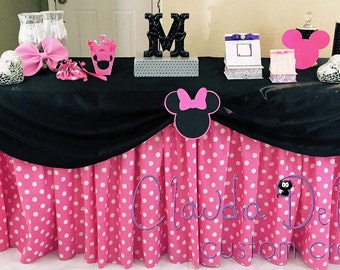 Minnie Table Skirt