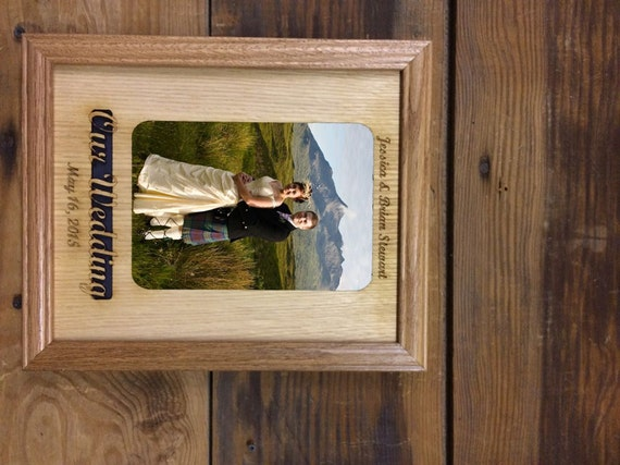 8x10 Personalized Our Wedding Picture Frame, Bride & Groom, Wedding ...