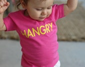 HANGRY shirt or onesie, custom shirt, custom apparel, baby shower gift, new baby shirt, baby outfit, vacation outfit
