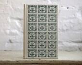 "Hardcover Journal Tartuensis Classic ""Cookbook"" Blank Kitchen Recipe Book"