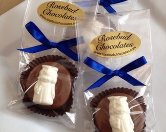 12 Chocolate Oreo Cookie Favors Girl Graduation Party Celebration Candy Treats Cap Gown Tassel Diploma Graduate