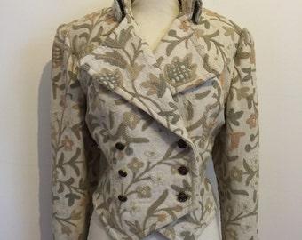 Vintage Bellville Sassoon Embroidered Jacket