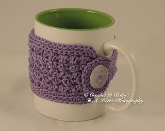 Crochet Trinity Mug/Cup Cozy  (PATTERN ONLY)