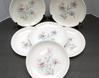 Steubenville Pottery  Fairlane Salad Plates - Set of 4 (2 sets available) Hard-to-find size