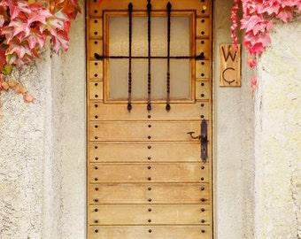 Watercloset, Switzerland Photography, Door Photography, Travel Photography, Art Print, Wall Decor