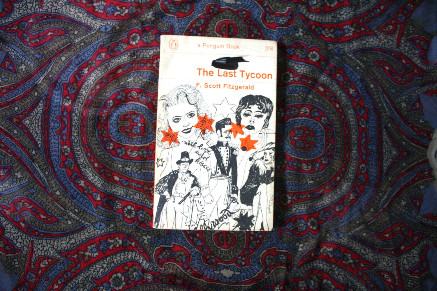 Vintage Penguin Book Cover Postcards : F scott fitzgerald the last tycoon s vintage