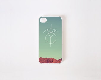 iPhone 4/4s Case - Moon Valley iPhone Case - iPhone 4 s case - iPhone 4 case - Hard Plastic or Rubber