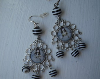 Beautiful original earrings