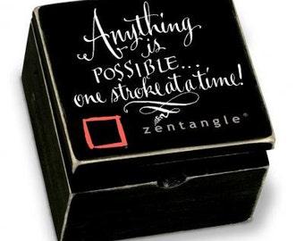 Zentangle Keepsake Box