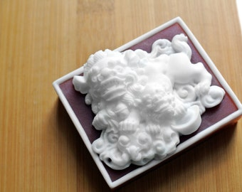 Lucky Foo Dog Soap / Foo Dog Soap / Chinese Guardian Lion