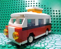 Lego Custom Mini VW Camper Van