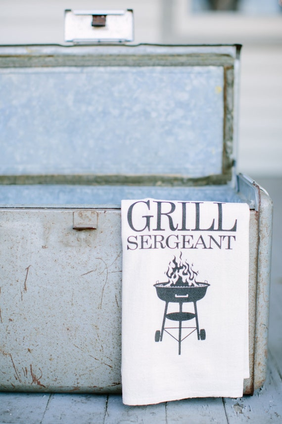 Grill sergeant towel