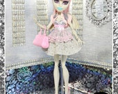 "Monster Doll ""Set in Stone"" high fashion doll clothes dress"