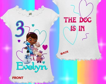 Doc McStuffins Shirt - Doc McStuffins Birthday Shirt or Tank Top