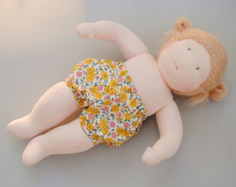 PATTERN: Bloomers for the Wild Marigold Waldorf Baby Doll, Instant Download, PDF
