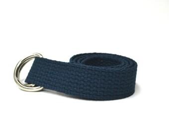 Navy Belt - Navy Child Belt - Boys Belt - Canvas Belt - Ring Bearer Belt - Ringer Bearer Outfit - Nautical Wedding Outfit -Navy Toddler Belt