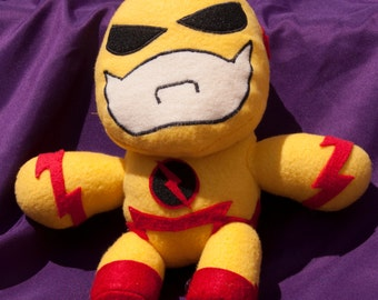 Handmade The Flash Reverse Flash Plush