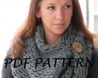 Knitting Pattern Child Infinity Scarf : KNITTING PATTERN Hooded Cat Cowl Cat Ears Hooded Infinity