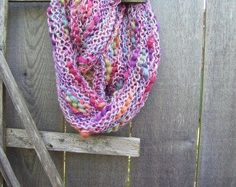 Twist Cowl  Bamboo Blooms