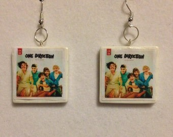 One Direction 'Up All Night' Album Earrings