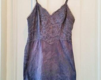 Vintage Overdyed Slip Dress Vanity Fair 34S